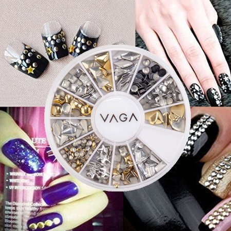 Professional High Quality Manicure 3d Nail Art Decorations Wheel