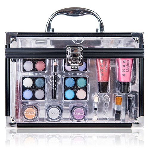 shany makeup kit. shany-carry-all-trunk-professional-makeup-kit-eyeshadowpedicuremanicure- shany makeup kit t